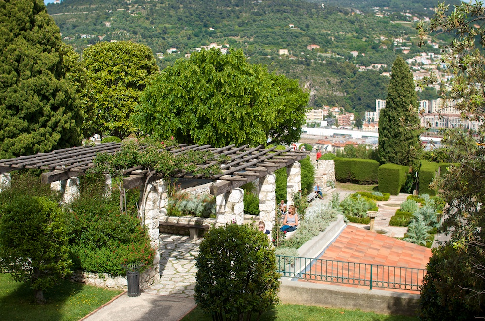 Nizza Rosengarten