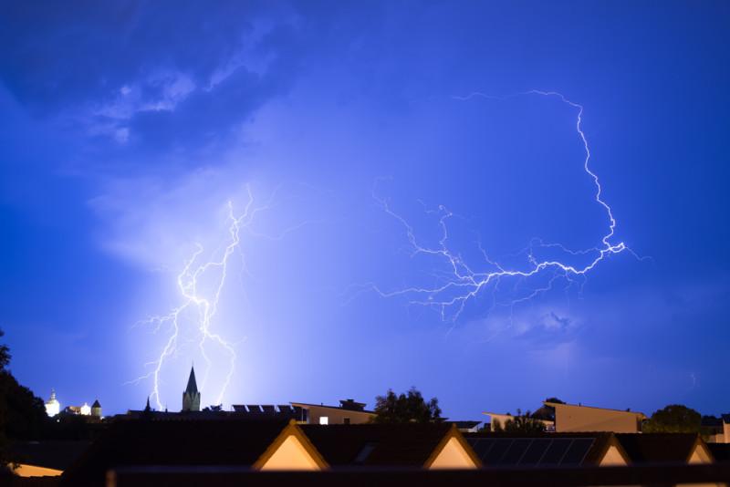 Sommer-Gewitter über Paderborn