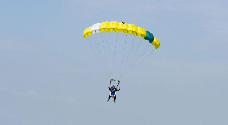 Fallschirmsprung in Höxter