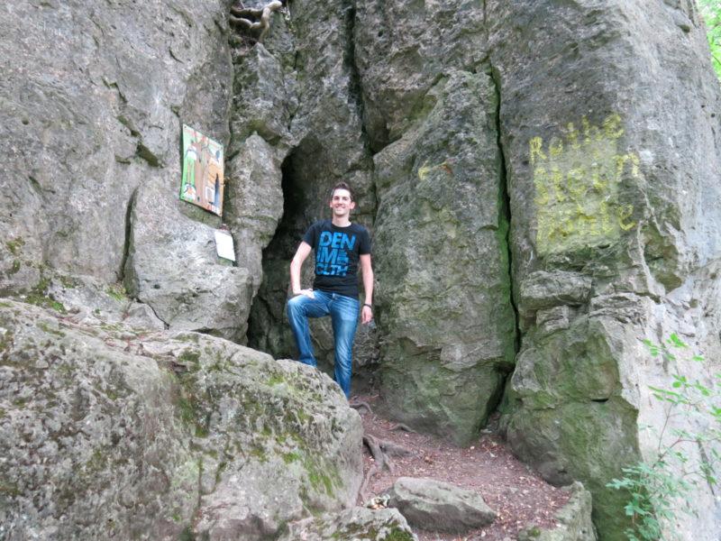 Ein Besuch in der Rothesteinhöhle im Ith