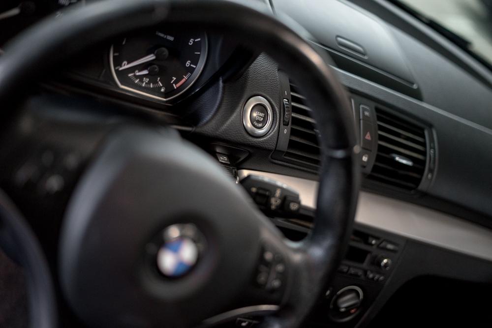 1er-BMW-Innenraum-Lenkrad