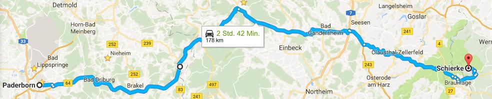 RouteZumBrocken